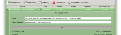 Pobierz openSUSE 12.1
