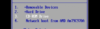 Uruchomienie komputera z USB/CD/DVD