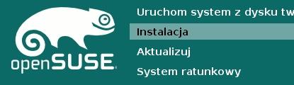 Instalacja openSUSE 13.2