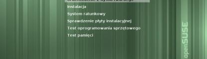 Instalacja openSUSE 11.4