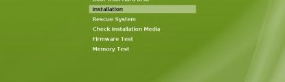 Instalacja openSUSE 12.1